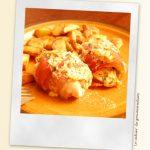 Roulades de poulet au jambon cru, tomates séchées et fromage de chèvre