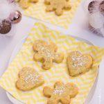 Sablés de Noël aux pistaches