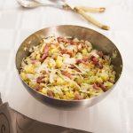 Salade de chou blanc et petit épeautre
