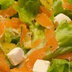 Salade kiwi saumon