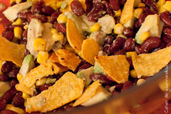 salade mexicaine aux haricots rouges cahier de gourmandises. Black Bedroom Furniture Sets. Home Design Ideas