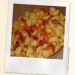 Salade de pâtes au melon