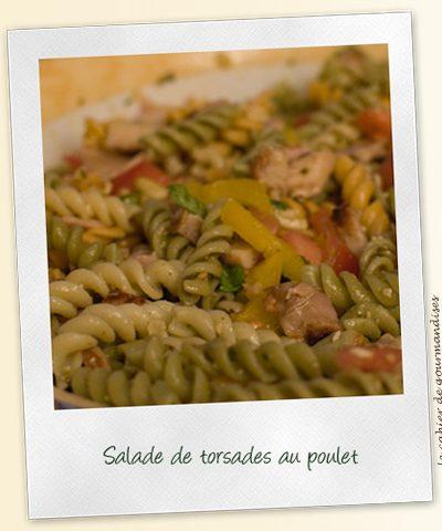 Salade de torsades au poulet