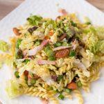 Salade de pâtes aux asperges vertes