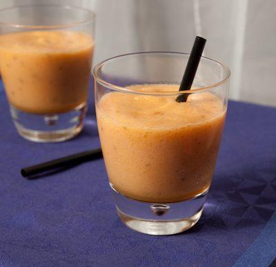 Soupe de melon (Ronde du mois d'aout)