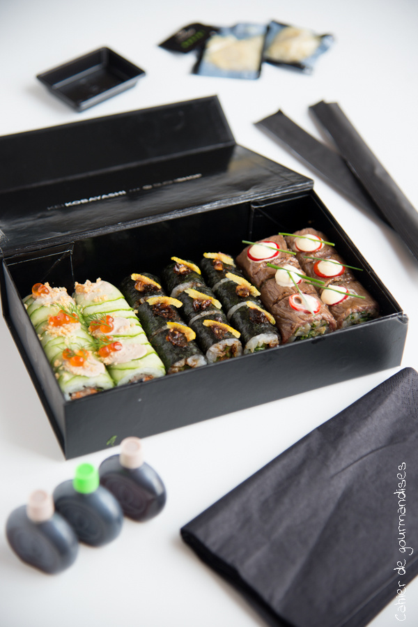 Sushishop Kobayashi | Cahier de gourmandises