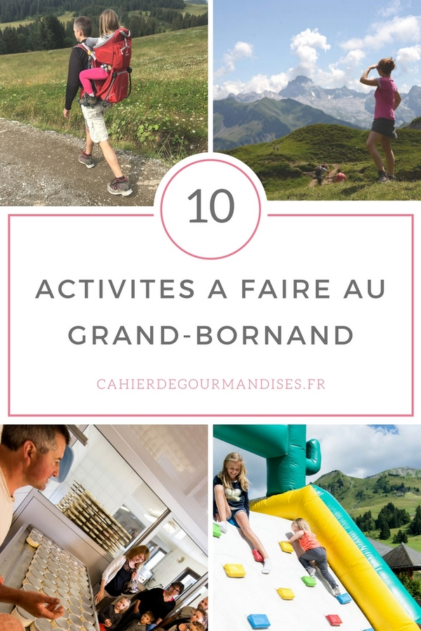 TOP10 à faire au Grand Bornand