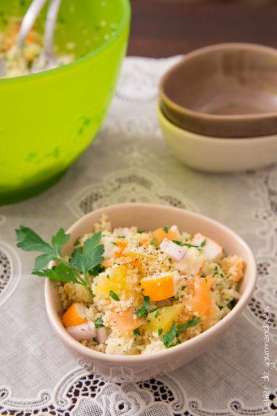 Taboule Marin | Cahier de gourmandises