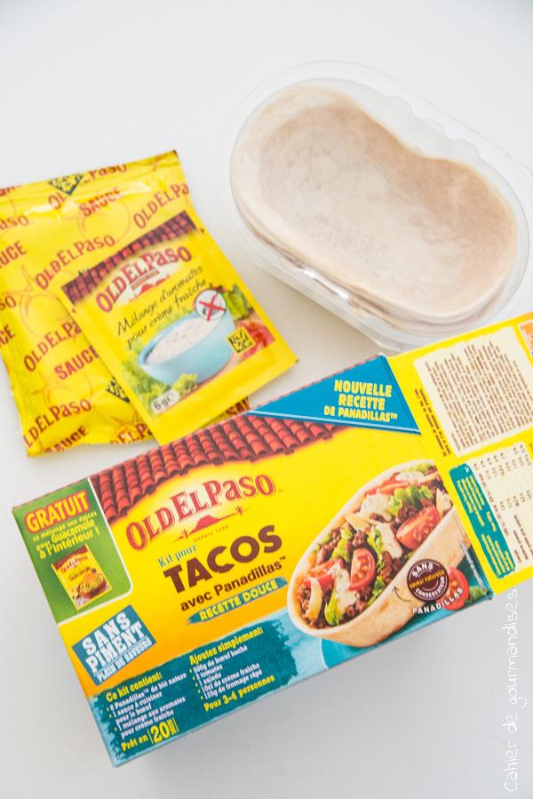 Tacos Old El Paso | Cahier de gourmandises