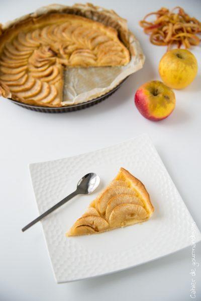 Tarte compotée aux pommes (en Vidéo !)