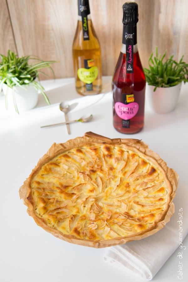 Tarte aux pommes et mascarpone | Cahier de gourmandises