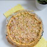 Tarte à la rhubarbe | Cahier de gourmandises