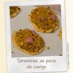 Tartelettes au pesto de courge
