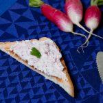 Tartinade de radis au fromage