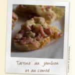 Tartines au jambon et au comté