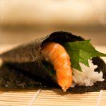 Temaki-sushi (« cornet »)