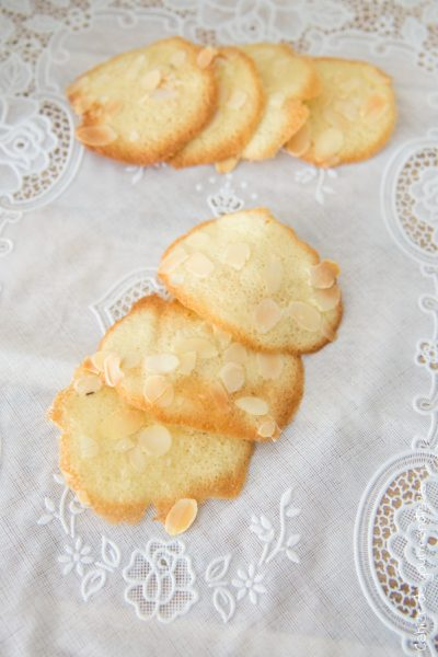 Tuiles aux amandes | Cahier de gourmandises