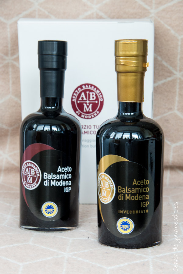Vinaigre Balsamique de Modene | Cahier de gourmandises