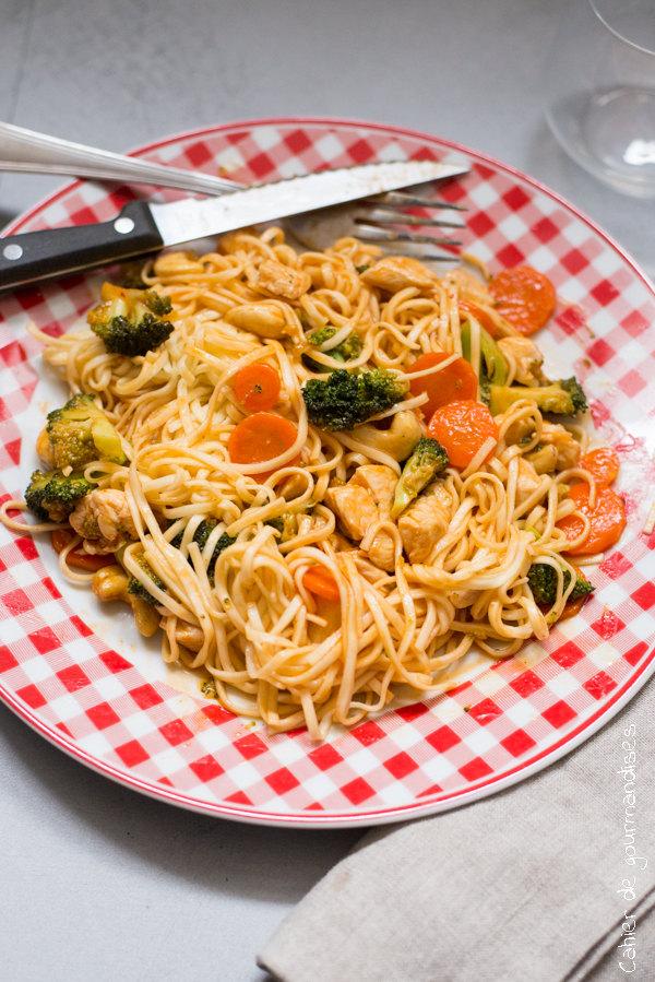 Wok Aigre douce | Cahier de gourmandises